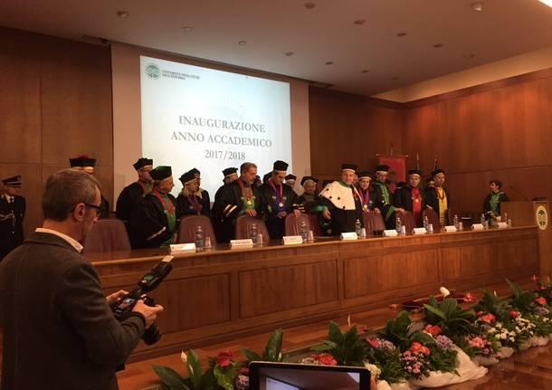 Inaugurazione del ventesimo anno accademico dell'Università dell'Insubria
