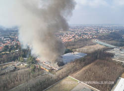 incendio cotonificio ponti solbiate olona stefano pedroni