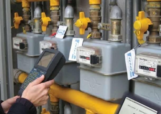 lettura contatori gas