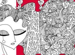 locandina spettacolo contro violenza di genere a Saronno