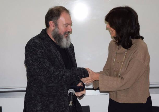 Carlo Lucarelli premiato alla Bocconi