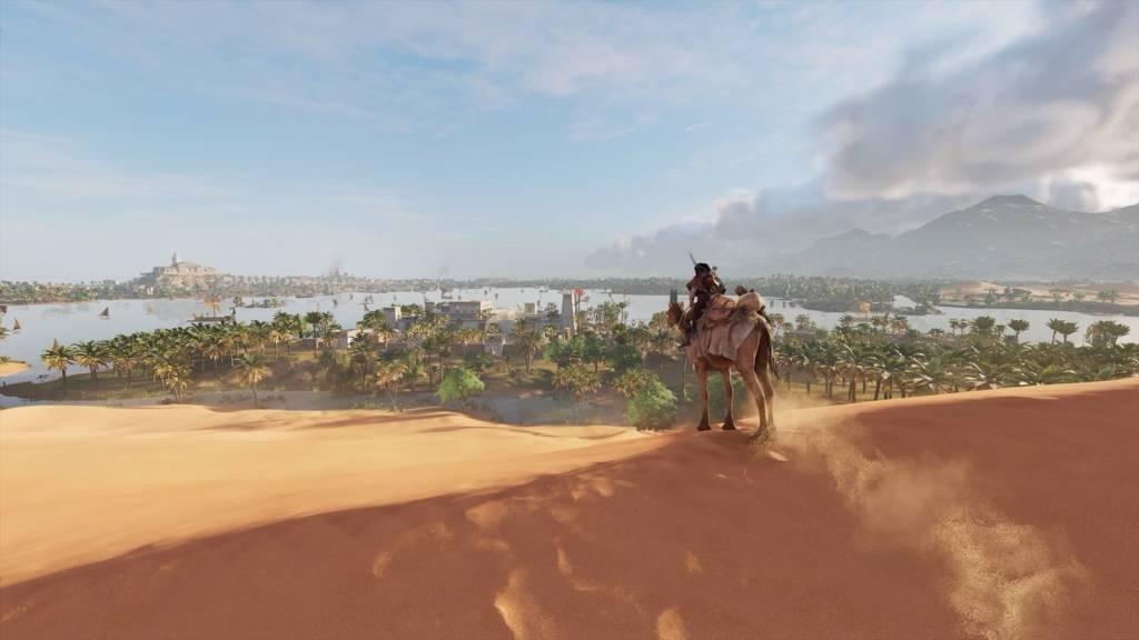 Nell'antico Egitto con Assassins Creed