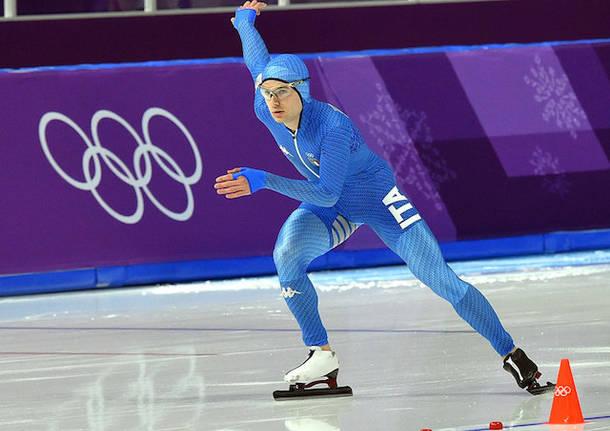 nicola tumolero pattinaggio velocità olimpiadi 2018