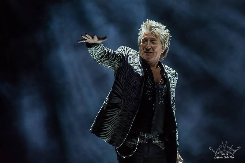 Rod Stewart live a Milano