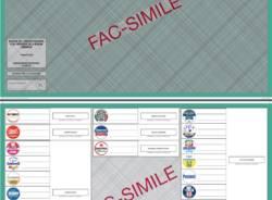 scheda elettorale lombardia