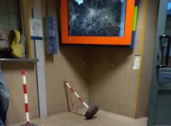 Venegono Inferiore - Vandalismi in stazione