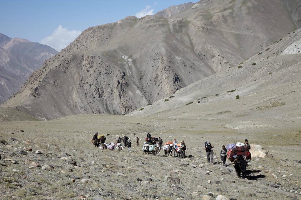 Afghanistan il corridoio del Wakhan