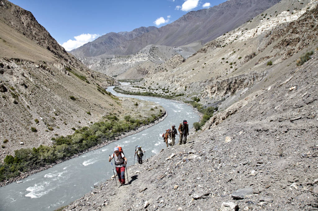 Afghanistan il corridoio del Wakhan