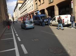 Allarme bomba Corti Varese