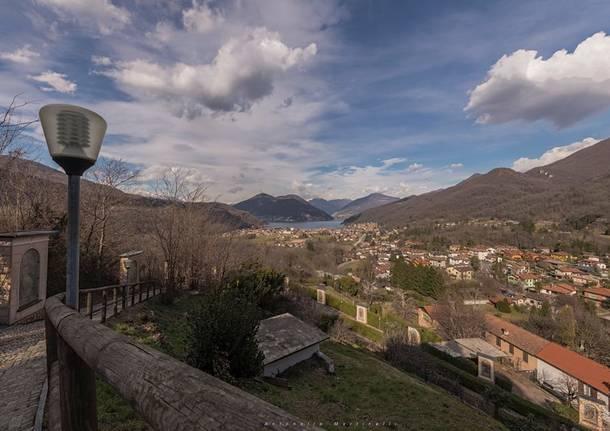 Besano, panorama dal colle - foto di Antonella Martinelli