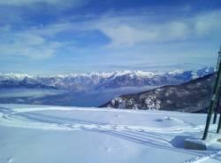 Forcora, si scia con la neve di marzo