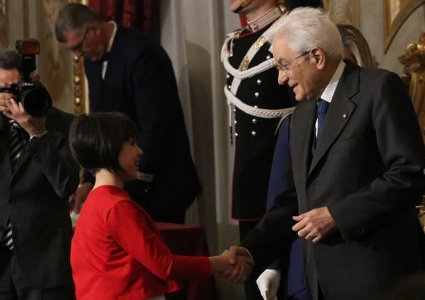 Margherita Borsoi, Alfiere della Repubblica