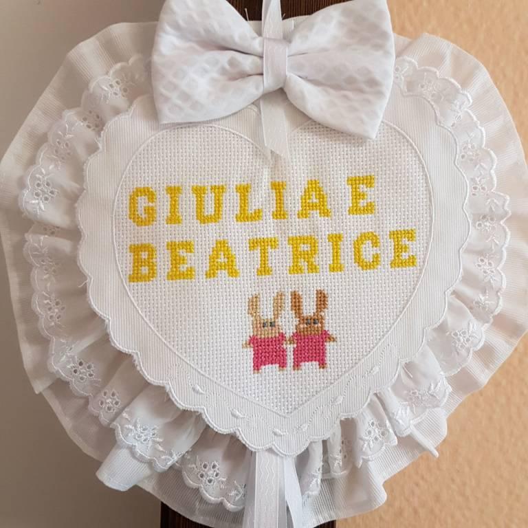Benvenute Giulia e Beatrice!