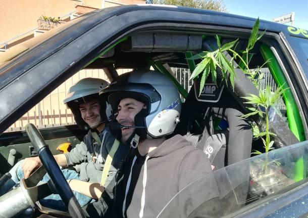 "Marijuana ""sponsor"" al Rally"
