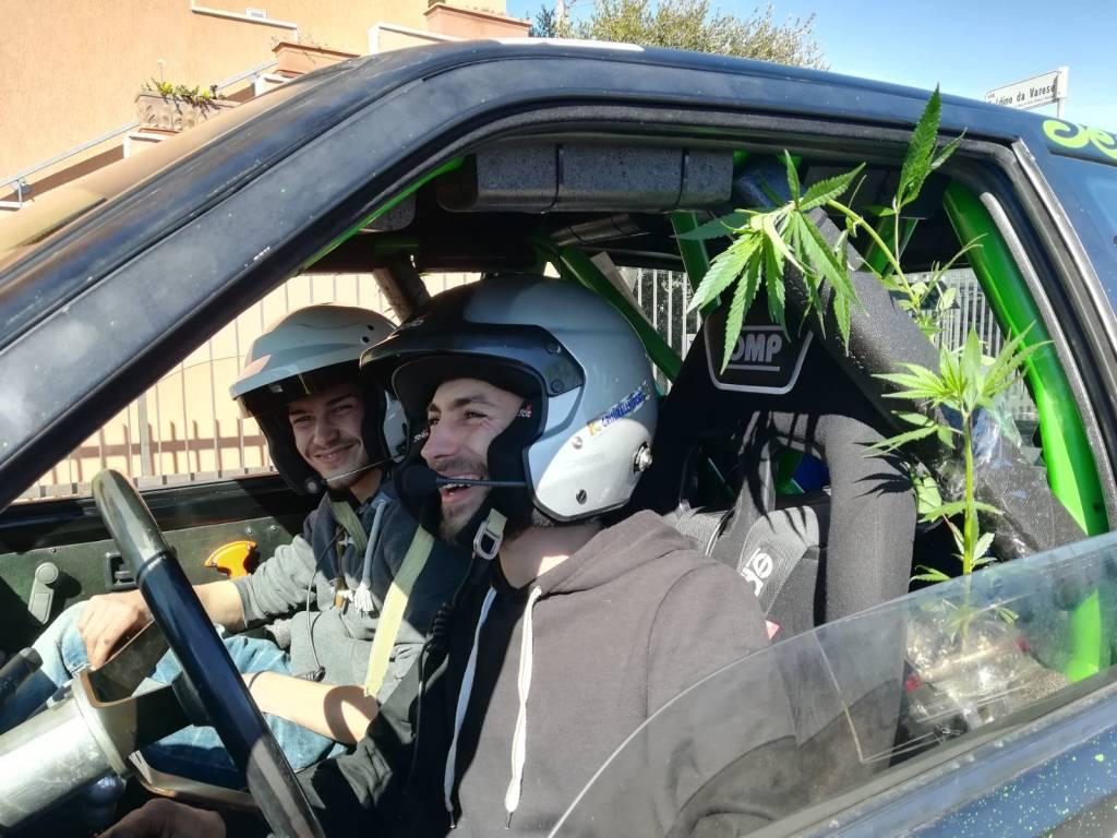 "Marijuana \""sponsor\"" al Rally"