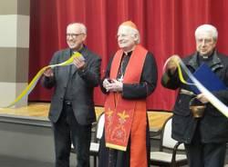 Cardinal Scola inaugura il rinato cinema Prealpi