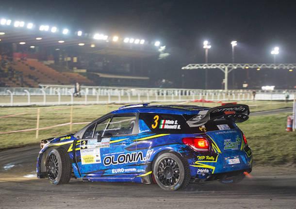 Ippodromo, la prova show del rally vista da Marco Losi