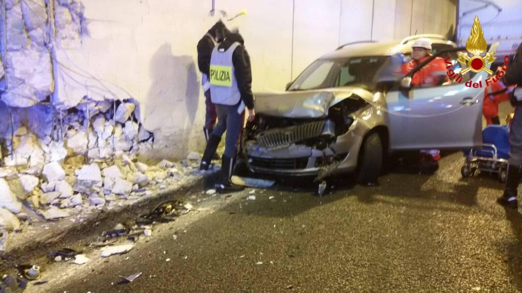 Incidente in A26 con un Tir