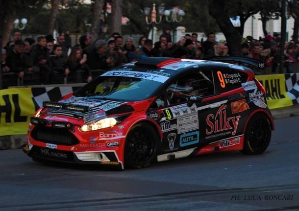 Rally del Ciocco, Crugnola sul podio