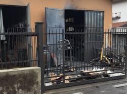 Esplosione in azienda a Ternate