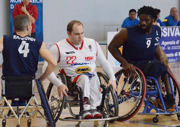 francesco roncari basket in carrozzina handicap sport varese