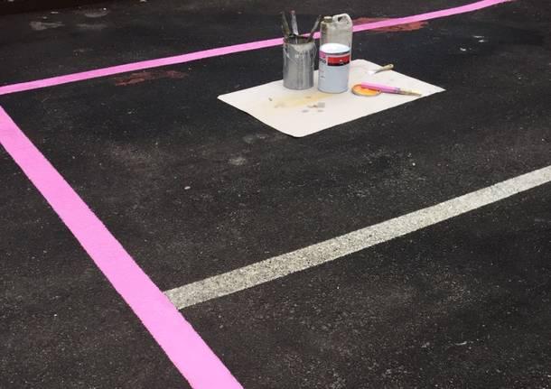 parcheggio rosa