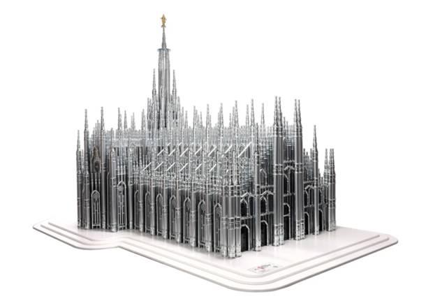 Il Duomo di Milano...dacciaio