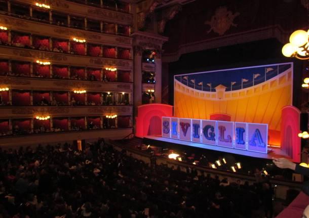 Gli alunni della Galilei alla Scala di Milano