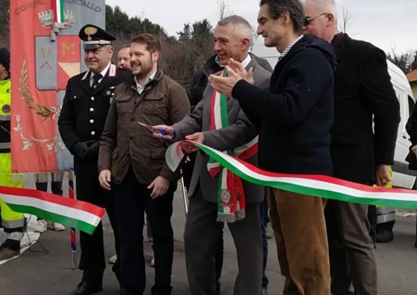 Inaugurazione via Oriana Fallaci a Mercallo