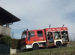 Incendio a Rodero (Co)