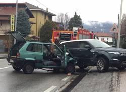 Incidente stradale sulla ss 394