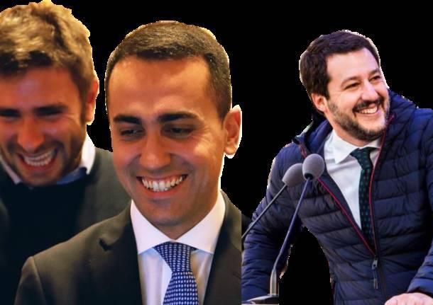 Vacanze pasquali a Ischia per Salvini e Isoardi