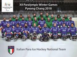 nazionale italiana Sledge Hockey paralimpiadi pyeongchang 2018