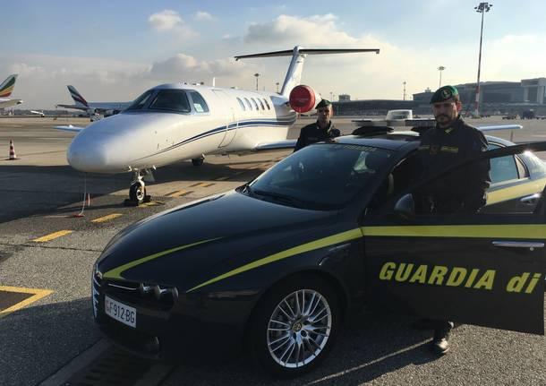 Operazione Aerotax Guardia di Finanza di Malpensa