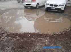 parcheggio ospedale di Velate
