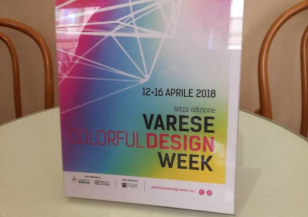 Presentazione Varese design week 2018