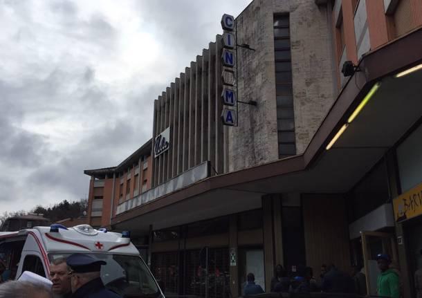 Protesta Albergo Vela richiedenti asilo