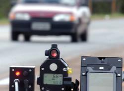 Radar mobili velocità