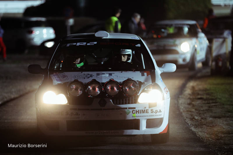 Rally dei Laghi all'Ippodromo