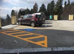 Riapertura dei bagni e del parcheggio all'inizio della via Sacra