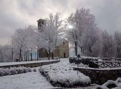 Sant'Eusebio sotto la neve
