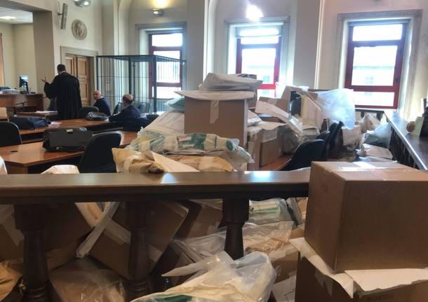 Elezioni, ancora schede al Tribunale di Varese