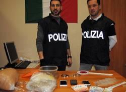 sequestro droga polizia busto arsizio
