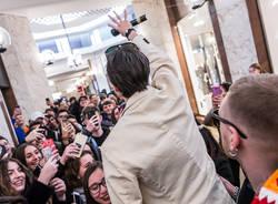Tedua incontra i fan a Varese Dischi