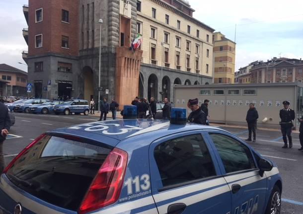 166 anniversario polizia di stato Varese Ville Ponti
