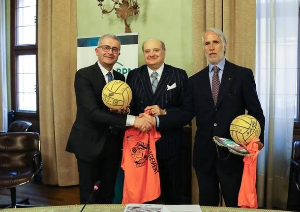 banco bpm sport management pallanuoto sergio tosi giovanni malagò