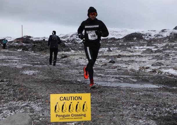bruno riccardo bonicalzi podismo maratona antarctica