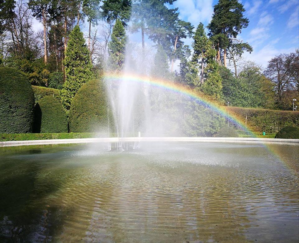 L\'arcobaleno ai Giardini Estensi