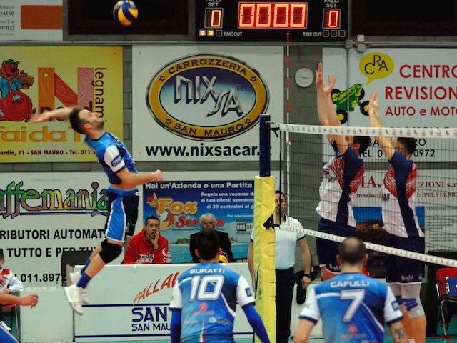 Sant\'Anna Tomcar Torino - Pallavolo Saronno 0-3