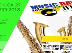 MUSIC DAY DI SAXOFONO - INGRESSO GRATUITO!